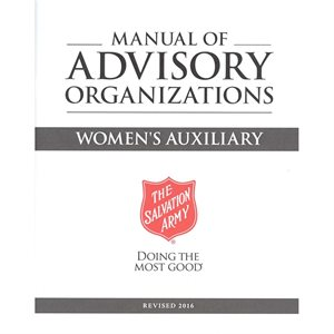 Manual of Advisory Organizations #3: Women's Auxiliary