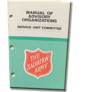 Manual of Advisory Organizations #5: Service Unit Committee