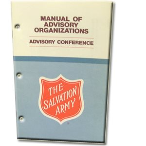 Manual of Advisory Organizations #6: Advisory Conference