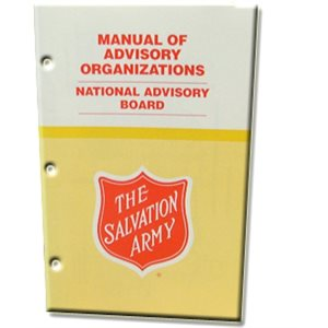 Manual of Advisory Organizations #10: National Advisory Council