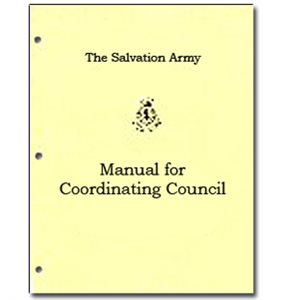 MANUAL FOR COORDINATING COUNCI