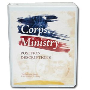 CORPS MINISTRY POSITION DESCRIPTIONS
