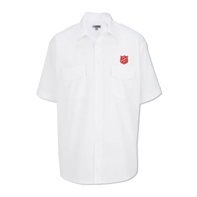 Navigator Men's Uniform Shirt with Shield Embroidery - Tall Sizing