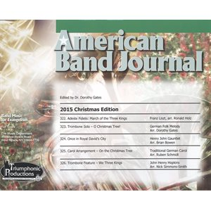 American Band Journal #75 (322-326)