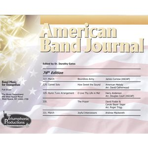 American Band Journal #76 (327-331)