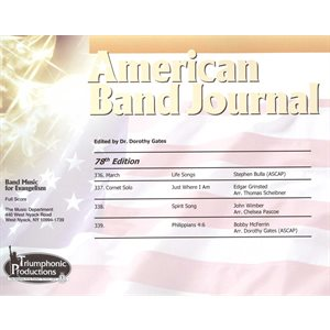 American Band Journal #78 (336-339)