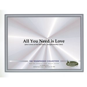 All You Need is Love arr Dorothy Gates