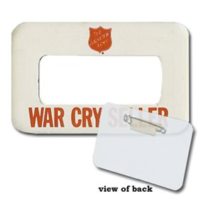 BADGE WAR CRY SELLER
