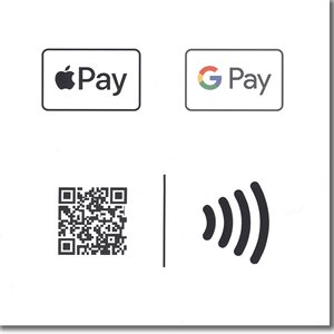 Google / Apple Pay QR / NFC Sticker For Kettle Campaign