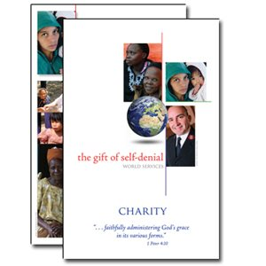 BULLETIN INSERT CHARITY WORLD SERVICES 2009 / 10 DS (Pack of 50)