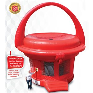 RED KETTLE BOUNCE HOUSE DS