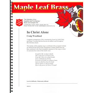 Maple Leaf Brass #23 - In Christ Alone