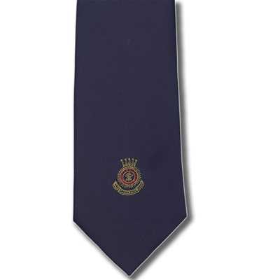 TIE 3 COLOR CREST CLIP ON
