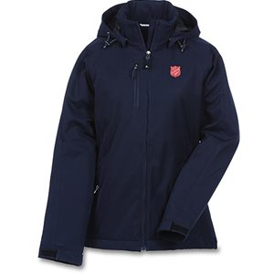 LADIES INSULATED SOFT SHELL JACKET