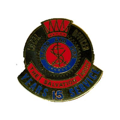 PIN LOCAL OFFICER (DHQ ONLY) 15YR LONG SERVICE