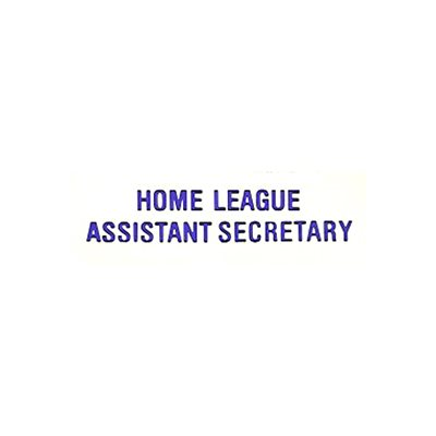 L O  ASST HOME LEAGUE SECRETAR