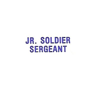 Local Officer Pin: Jr Soldier Sergeant
