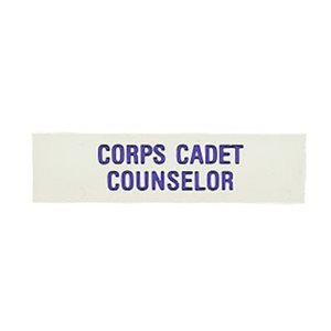 L O  CORPS CADET COUNSELOR