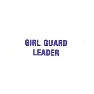 Local Officer Pin: Girl Guard Leader