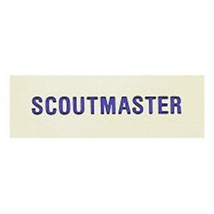 Local Officer Pin: Scoutmaster