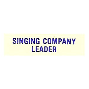 Local Officer Pin: Singing Company Leader