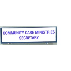 Local Officer Pin: Community Care Secretary