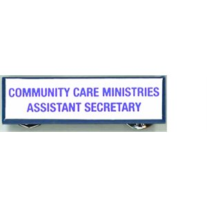 Local Officer Pin: Community Care Assistant Secretary