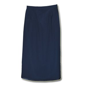 LADIES TROPICAL WOOL VENTED & PLEATED SKIRT