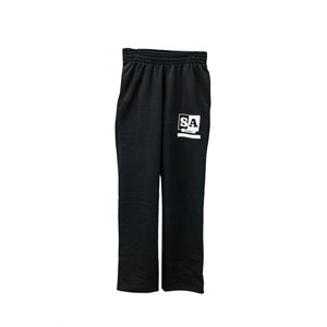 Unisex SA Black Workout Pants