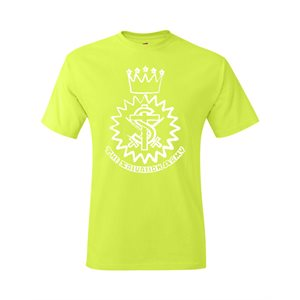 Hi Visibility Green T-Shirt with Crest