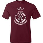 Cardinal Red T-Shirt with Crest