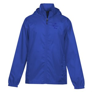 Men's Royal Blue Rain Jacket with The Salvation Army