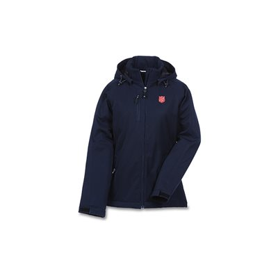 JACKET NAVY INS WINTER ELEVATE W / SHIELD LADIES