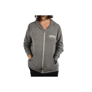 Embrace Canvas Hoodie Gray XS