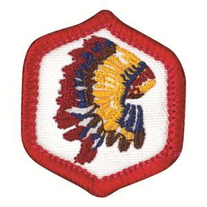 Ac / E Badge Native American Explorer