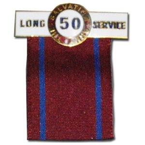 50 YEAR LONG SERVICE / LO PIN