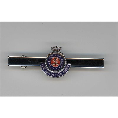 Crest Pin With Bar