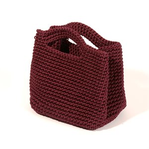 Captain Mary bag (maroon) Kenya
