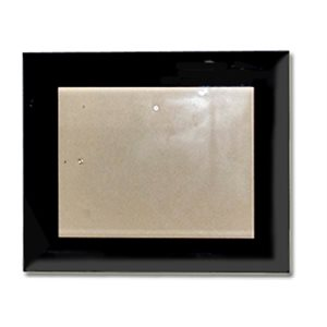 FM 8x10 BLK GLASS FRAME FOR CERTIFICATES
