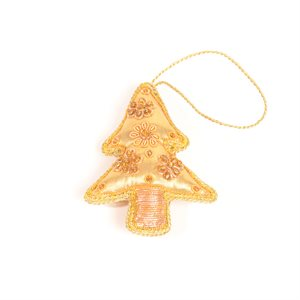 Christmas Tree Ornament Gold Pakistan