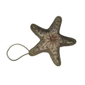 Christmas Gold-Star Ornament