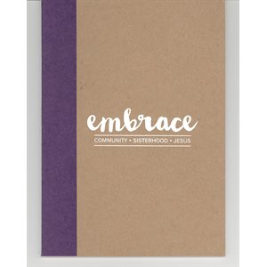 Embrace Two-Tone Notebook