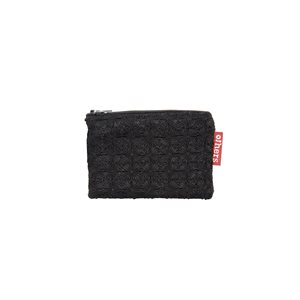 Small Embroidered Coin Purse Dhaka Black