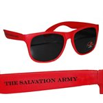 Sunglasses with The Salvation Army branding