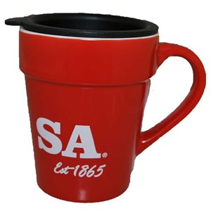 11oz Red Mug with SA est.1865