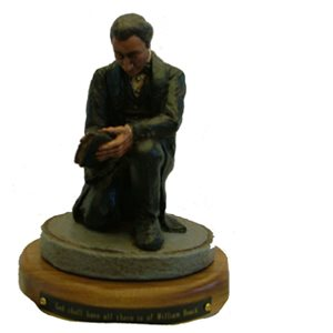 Kneeling William Booth Statuette
