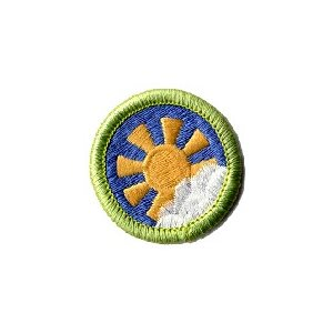 Gg Merit Badge The Sky Above