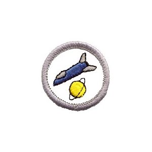 Sb Badge Space Travel