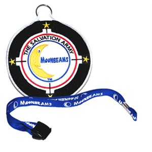MOONBEAMS PATCH W / LANYARD DS DHQ ONLY
