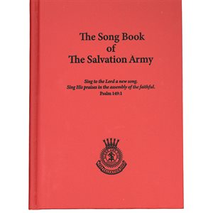 Songbook of the Salvation Army 2015 Red Hardcover